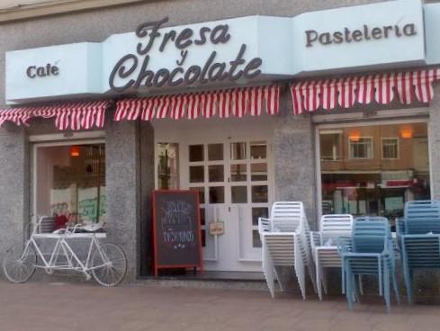 Café Fresa y Chocolate